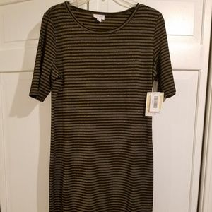 LuLaRoe Elegant Large Julia Dress  NWT GORGEOUS